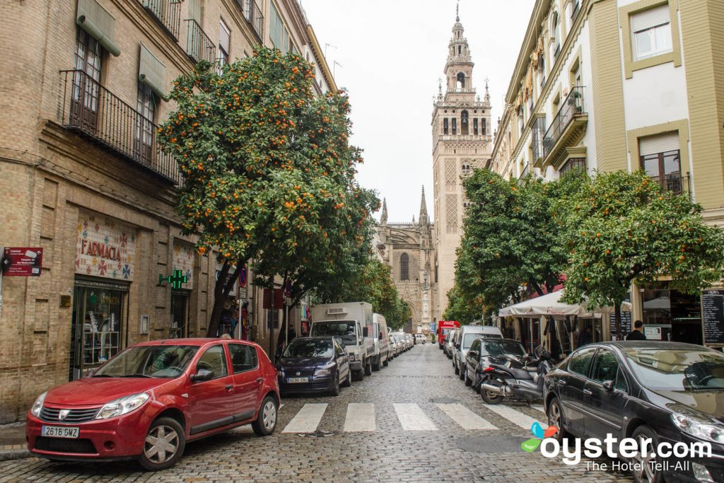 Fresh oranges and classic architecture in Seville? Yes, please.