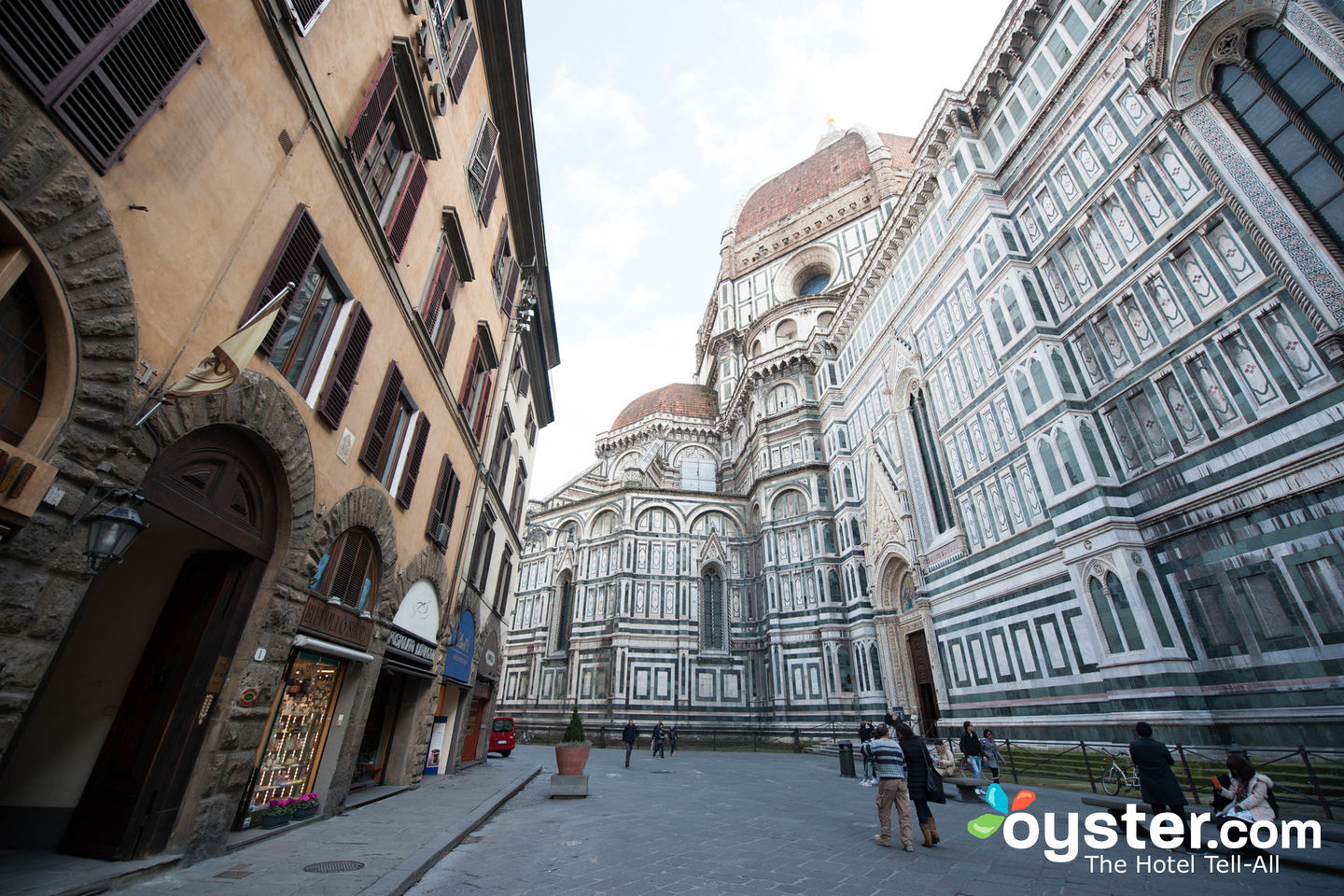 Street at the Hotel Duomo Firenze