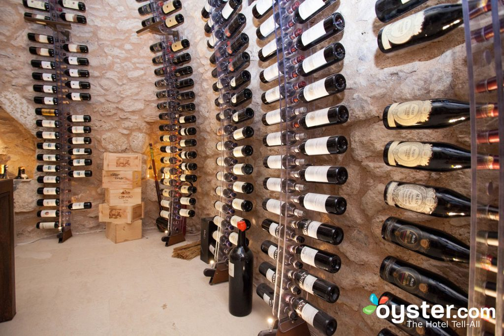 Wine Cellar at Masseria Bagnara Resort & Spa in Lizzano/Oyster