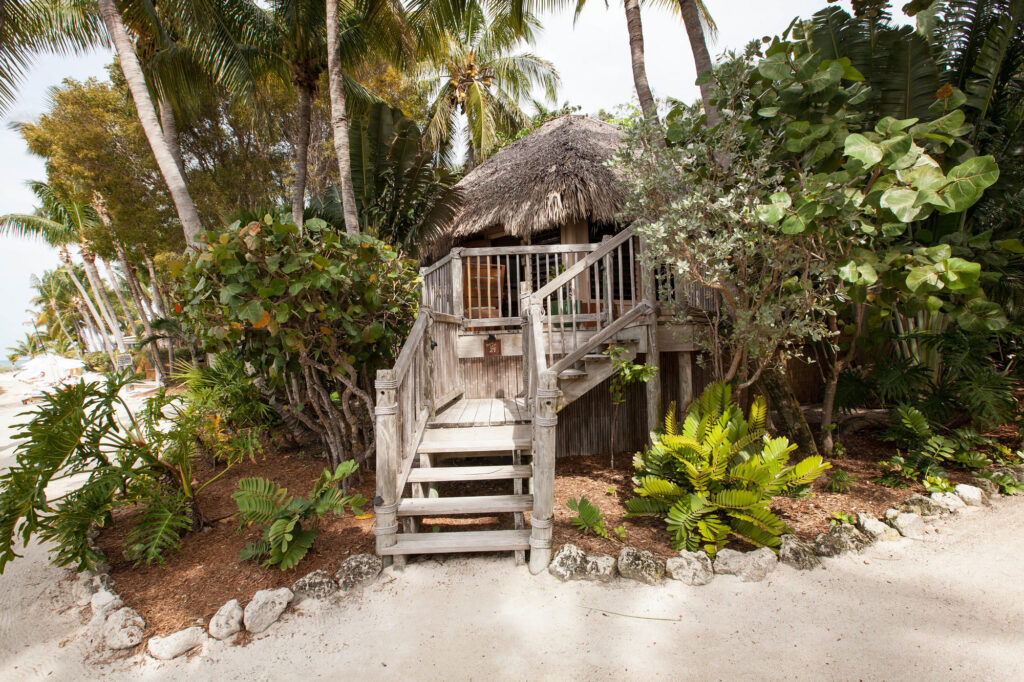 Exterior of the Escape Suite at the Beachside Little Palm Island Resort & Spa