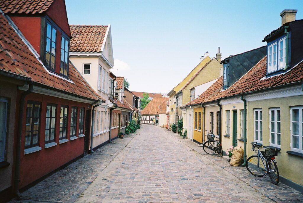 Odense, Denmark street