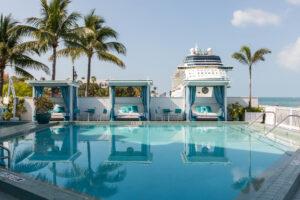 Pool and Cabanas at the Ocean Key Resort and Spa