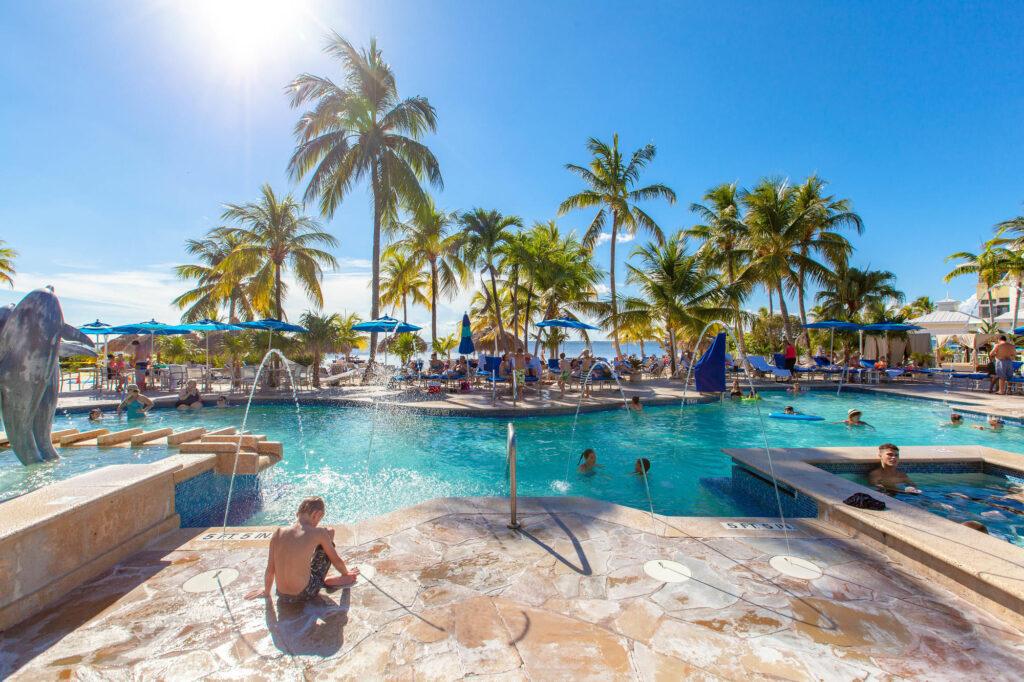 Pool at the Key Largo Marriott Beach Resort