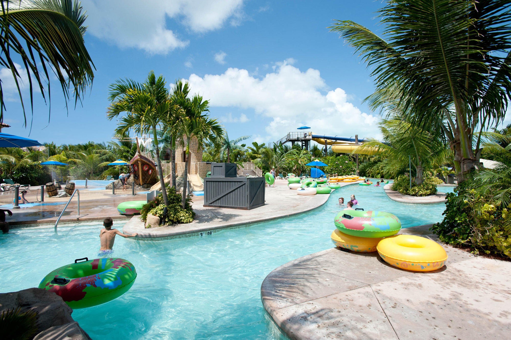 Beaches Turks and Caicos Resort Villages and Spa water park with lazy river