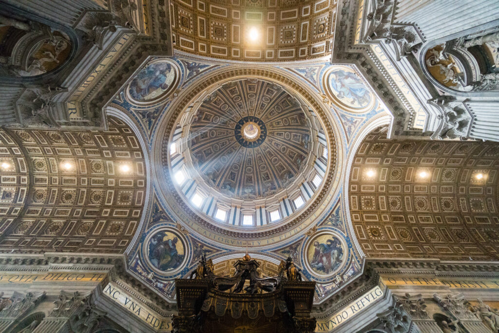 Ceiling at St. Peter's Basilica