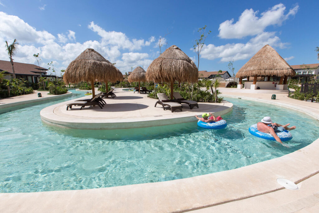 Lazy River at Dreams Playa Mujeres Golf & Spa Resort