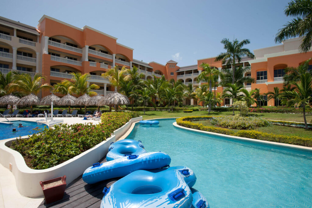 Lazy River Pool at Iberostar Selection Rose Hall Suites, Jamaica