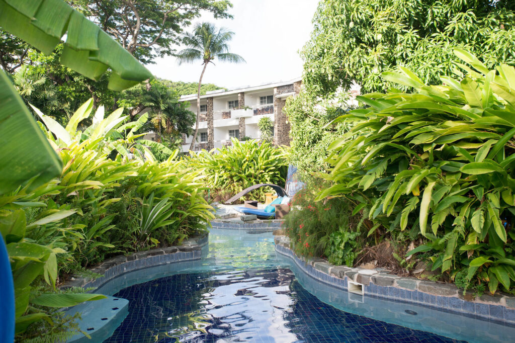 Lazy River at Rendezvous Resort, St. Lucia