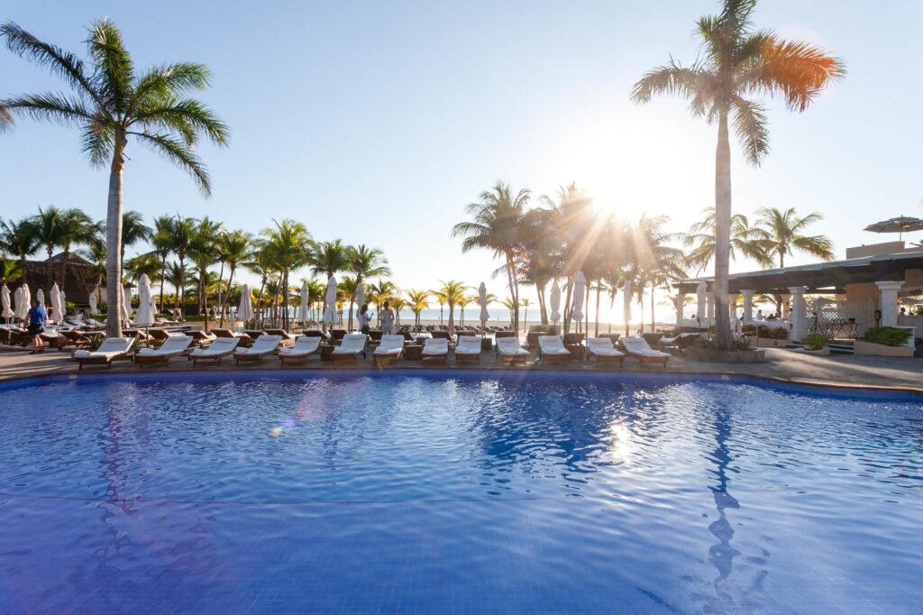 Royal Hideaway Playacar Mexico main pool
