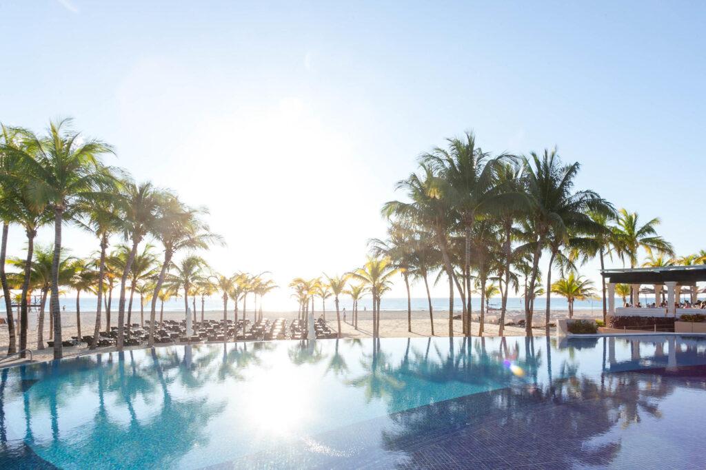 Royal Hideaway Playacar Mexico pool and beach