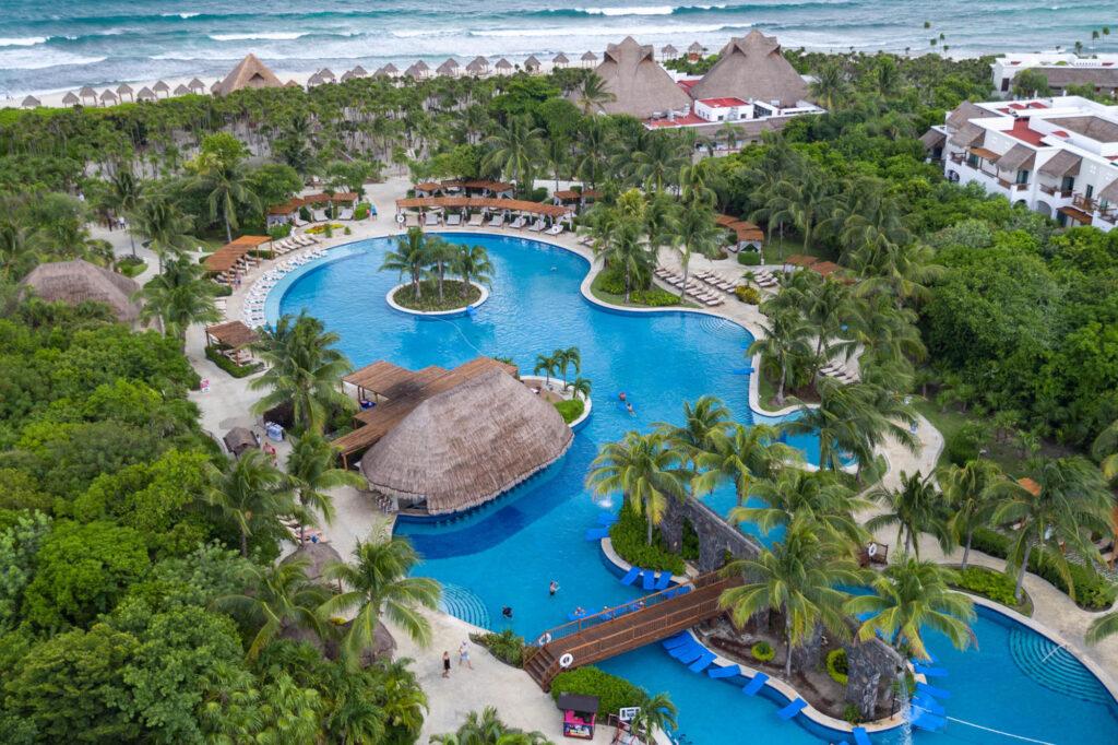 Aerial View at Valentin Imperial Riviera Maya