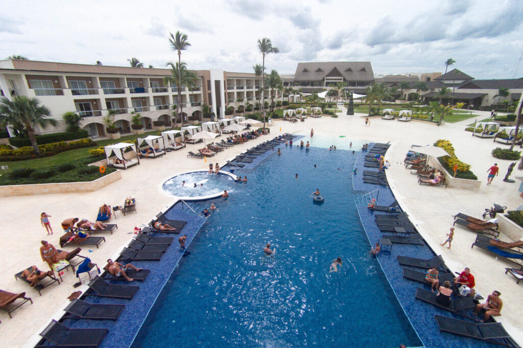 Pool at Royalton Punta Cana Resort & Casino