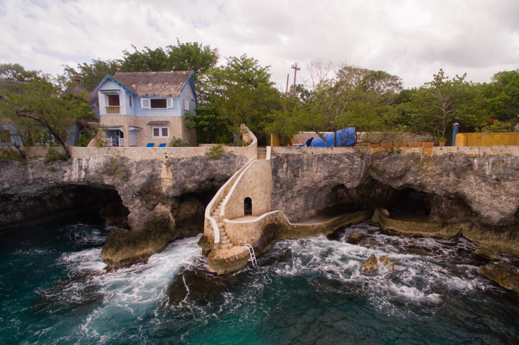The Caves in Negril