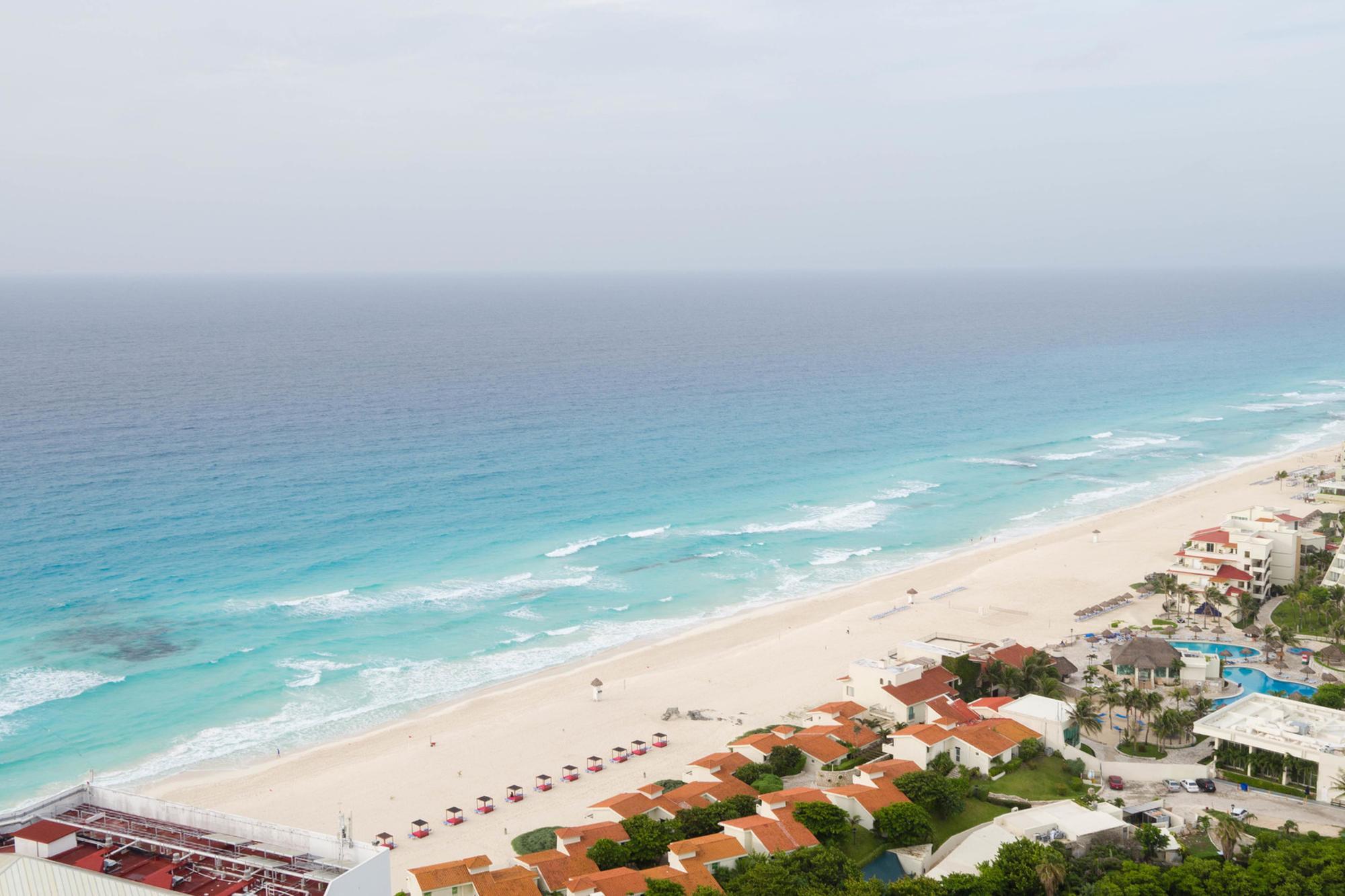 Le Blanc Spa Resort Cancun aerial