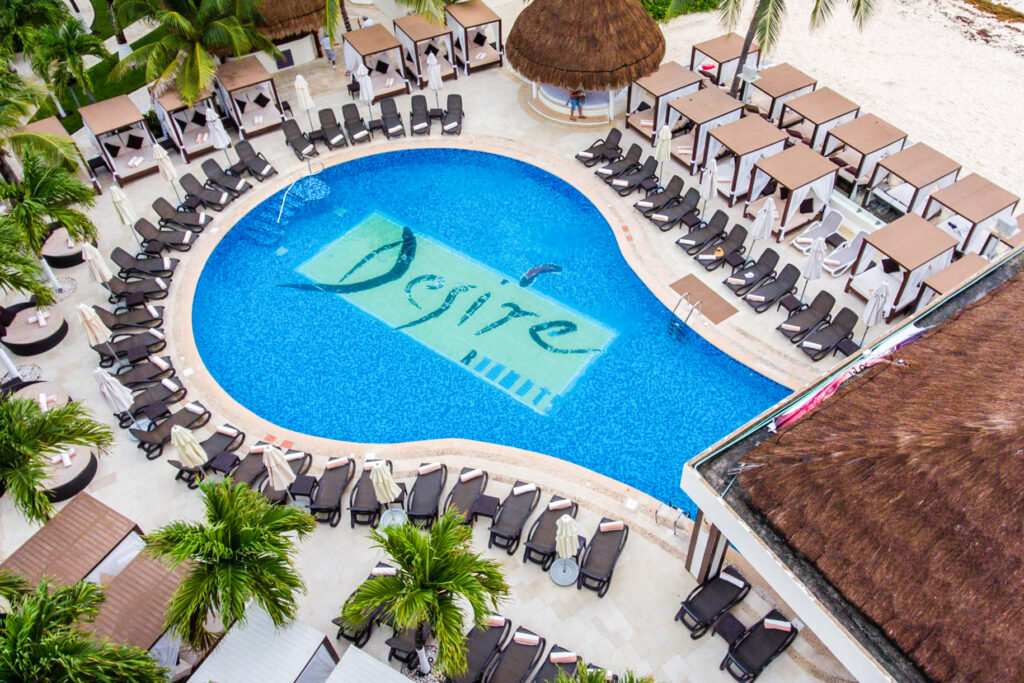 Pool at the Desire Riviera Maya Resort
