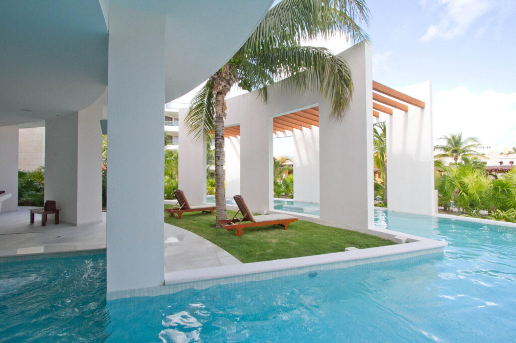 Miilé Spa at the Excellence Playa Mujeres