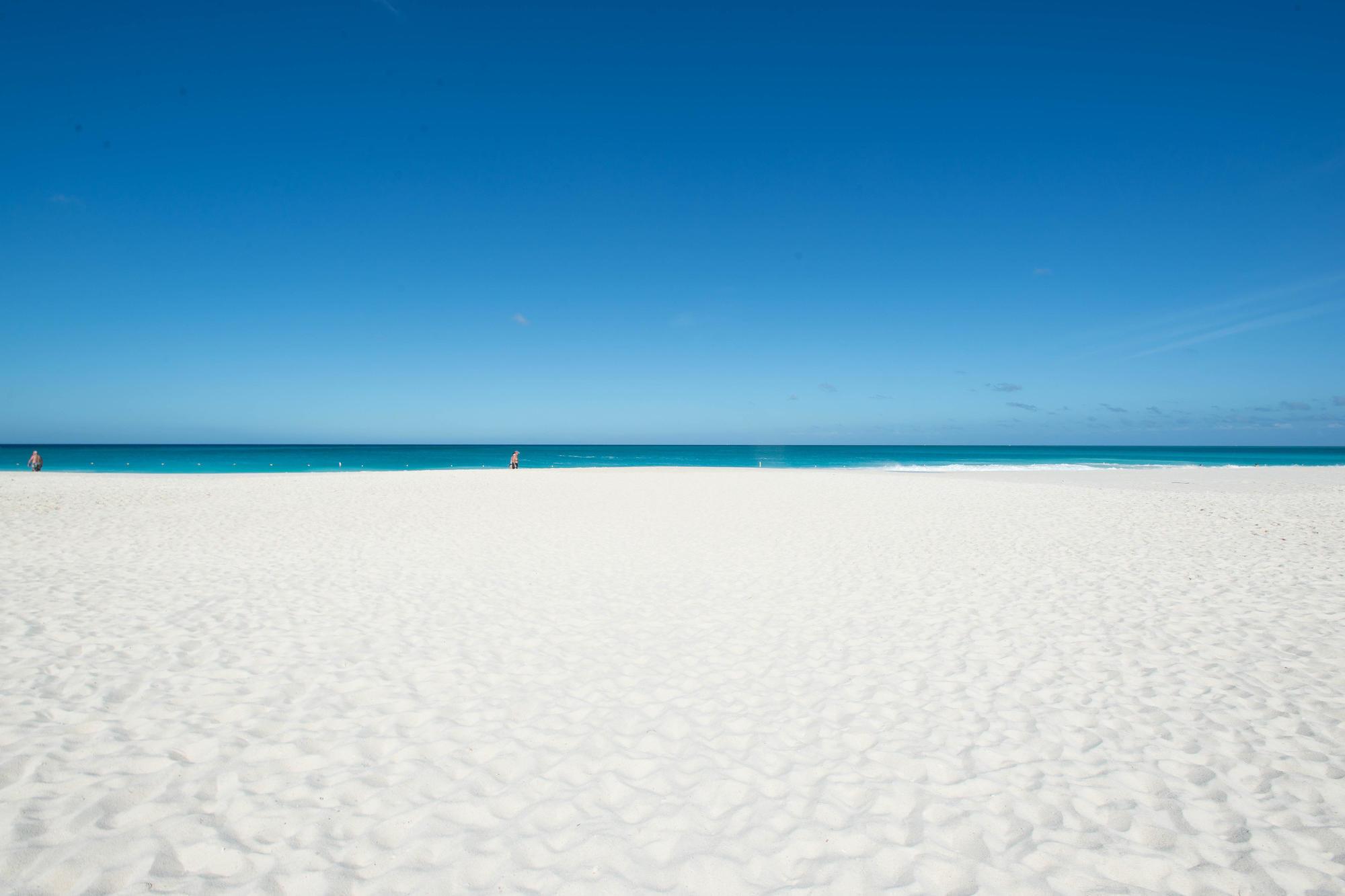 The beach at Bucuti & Tara Beach Resort, Aruba