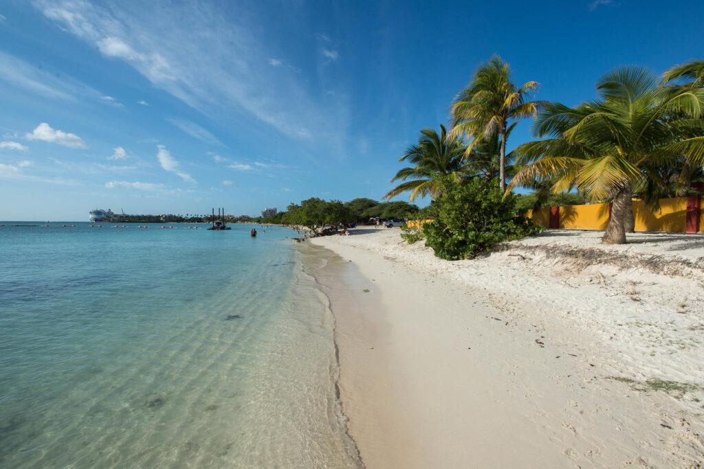 Beach at Aruba Surfside Marina
