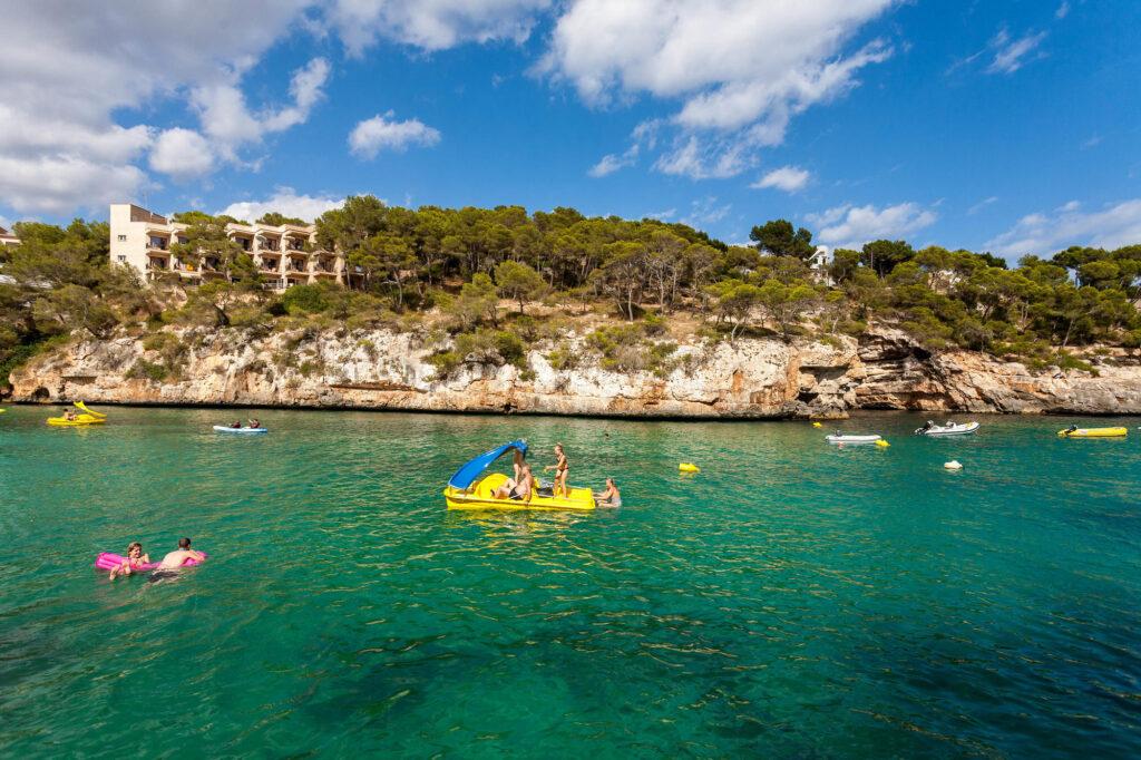 Beach at Hotel Pinos Playa, Mallorca
