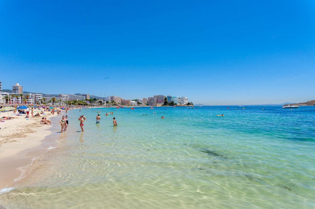 Beach at Melia Calvia Beach in Mallorca