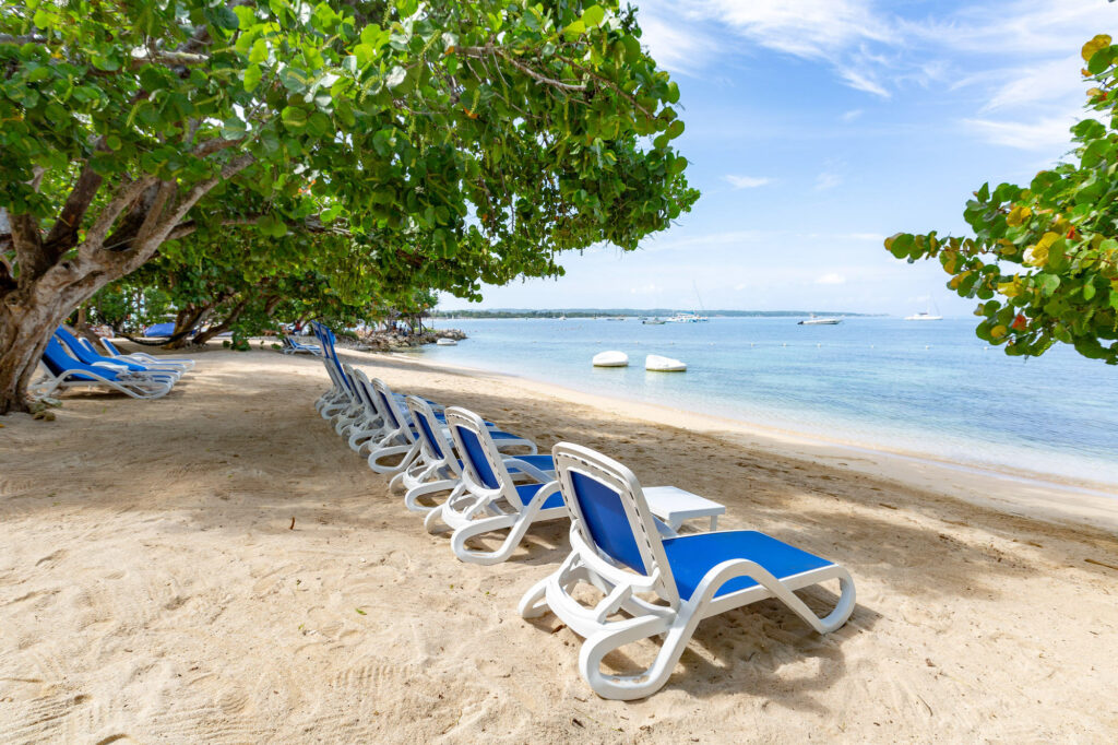 Beach at Hedonism II, Jamaica