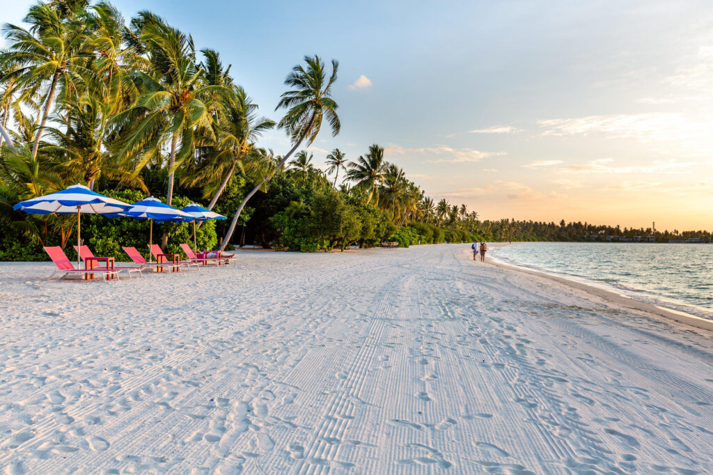 Beach at the Kandima Maldives