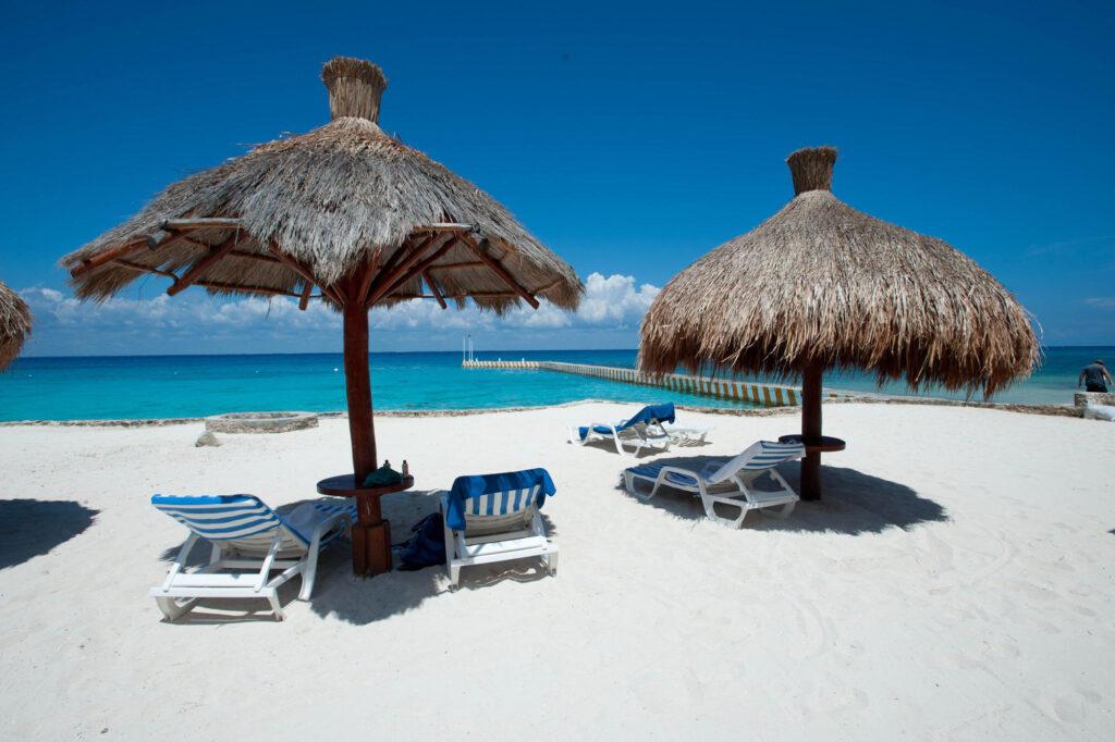 Beach at the El Cozumeleno Beach Resort