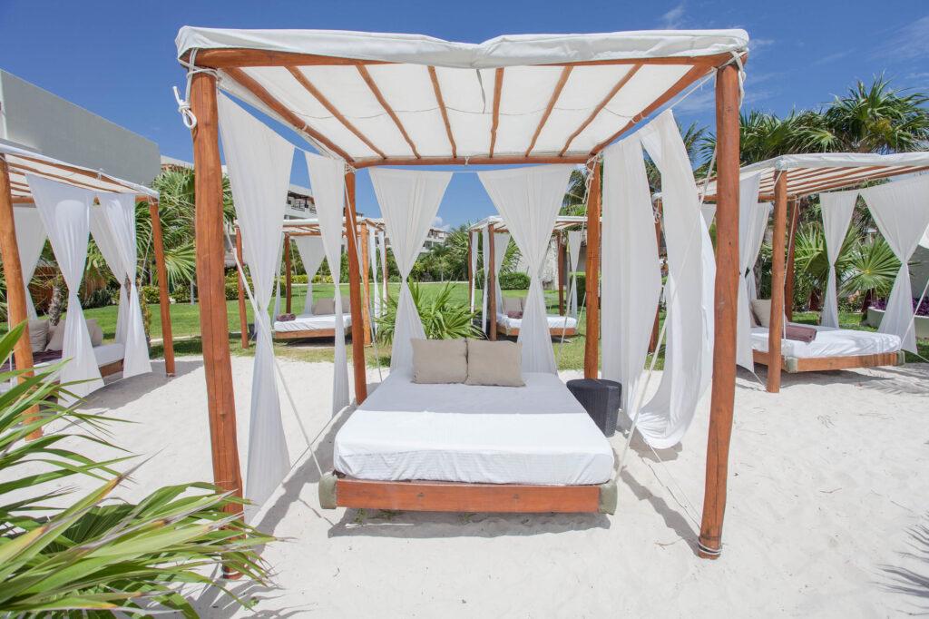 Lounge Chairs at Secrets Maroma Beach Riviera Cancun
