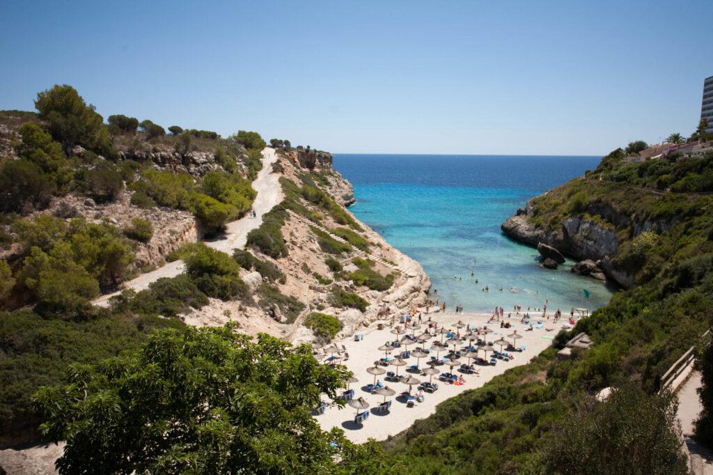 The Beach at HYB Eurocalas, Mallorca