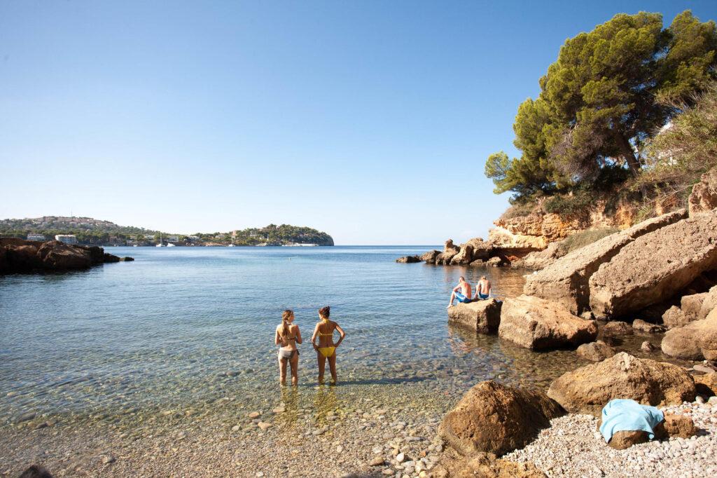 Beach at the TRH Jardin del Mar in Mallorca