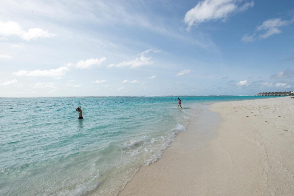 Beach at the Velassaru Maldives