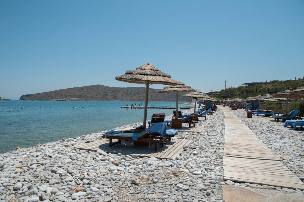 Beach at the Blue Palace, a Luxury Collection Resort & Spa, Crete