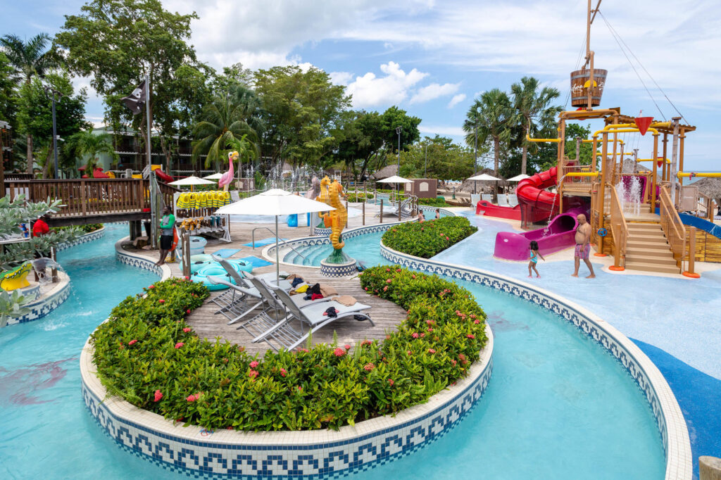 Pirates Island Water Park at Beaches Negril Resort & Spa, Jamaica