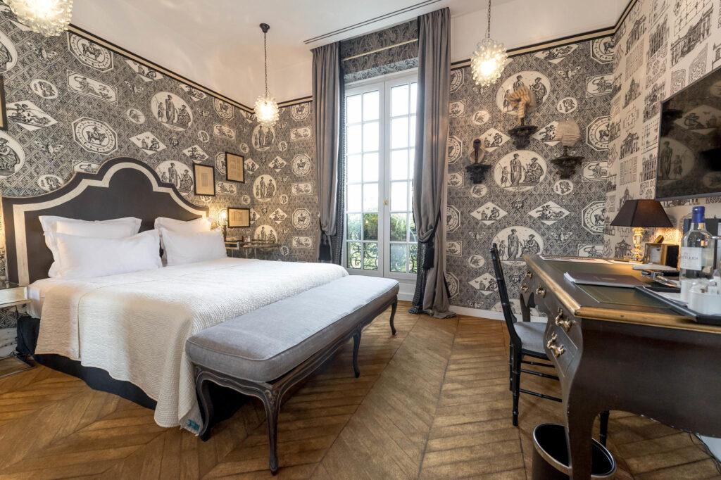 The Boudoir Double Room at the Saint James Paris