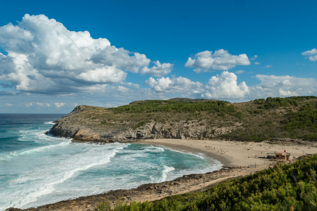 Cala Torta Beach in Mallorca