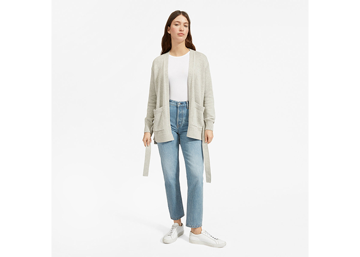 The Soft Cotton Wrap Cardigan from Everlane