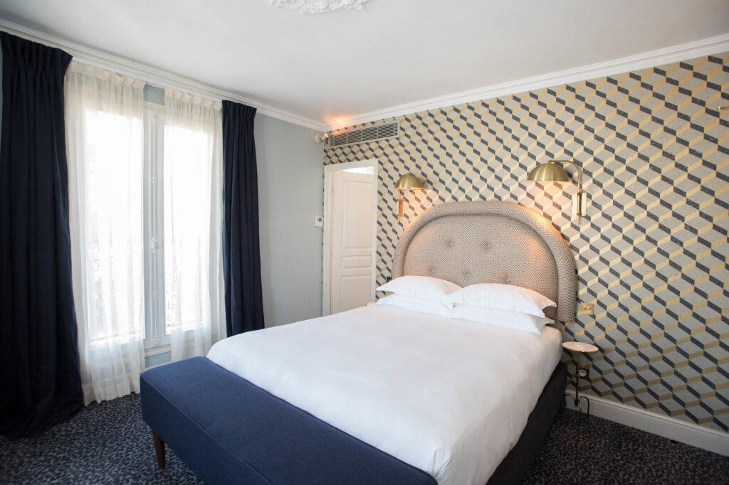 The Corner Room at the Grand Pigalle Hotel