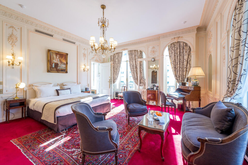 The Deluxe Room at the Hotel Raphael