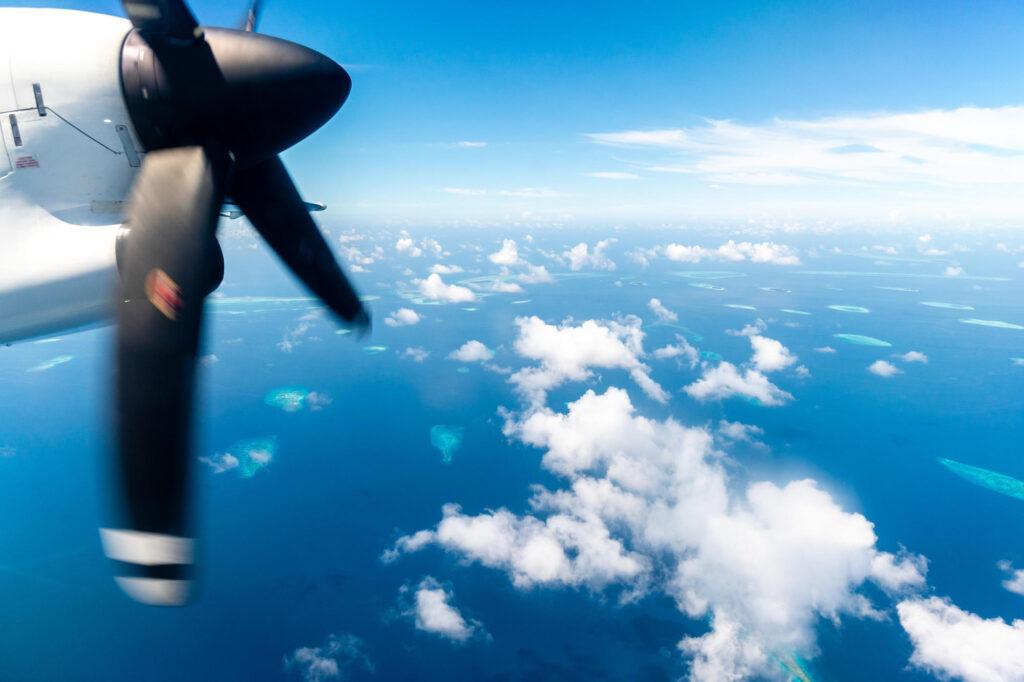 Domestic Flight at the AYADA Maldives
