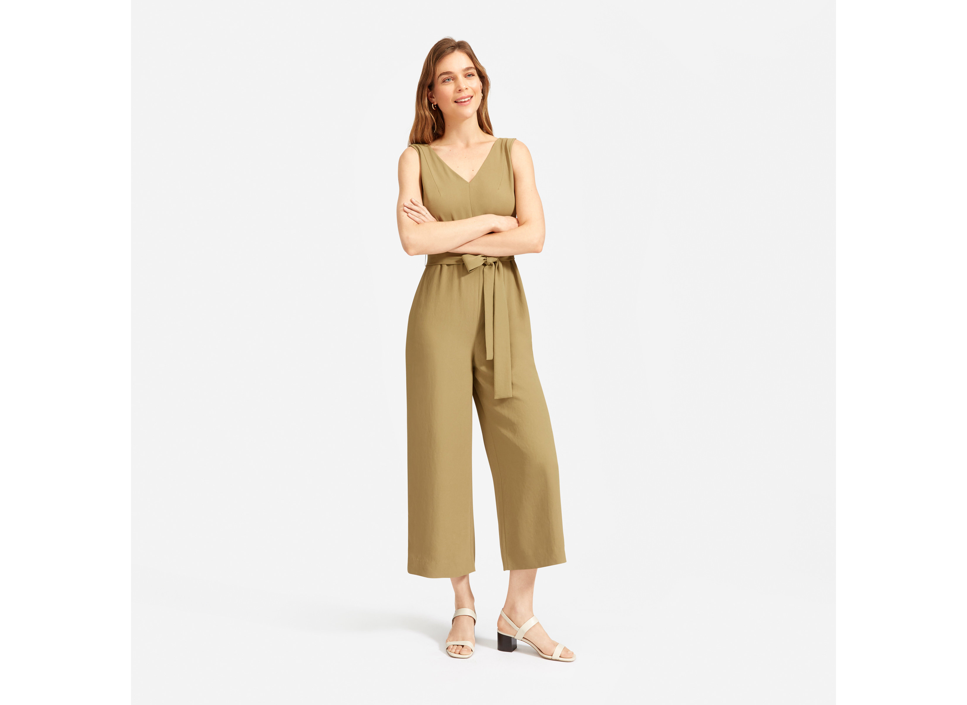 The Japanese GoWeave Essential Jumpsuit from Everlane
