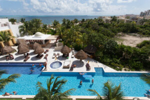 Overhead view of Excellence Playa Mujeres