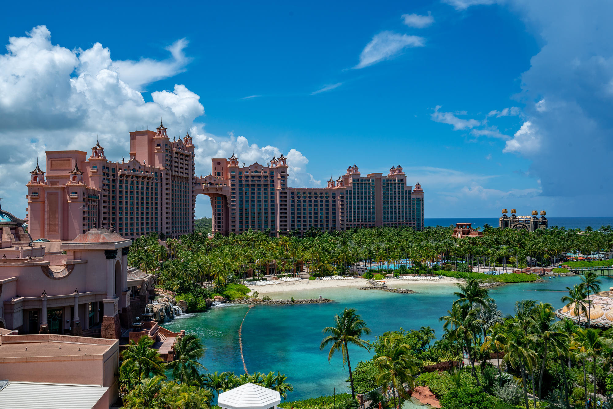 The Royal at Atlantis on Paradise Island, The Bahamas.