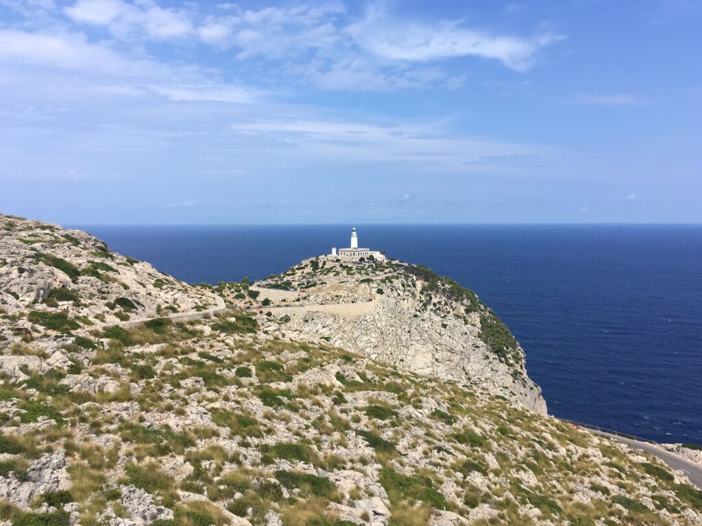Cap de Formentor Lighthouse View in Mallorca