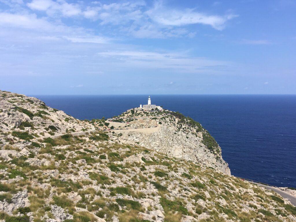 Cap de Formentor Lighthouse View in Mallorca