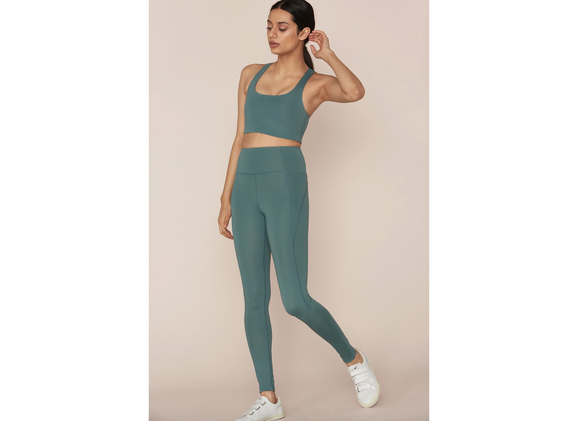 Jade Compressive Workout Set from Girlfriend Collective