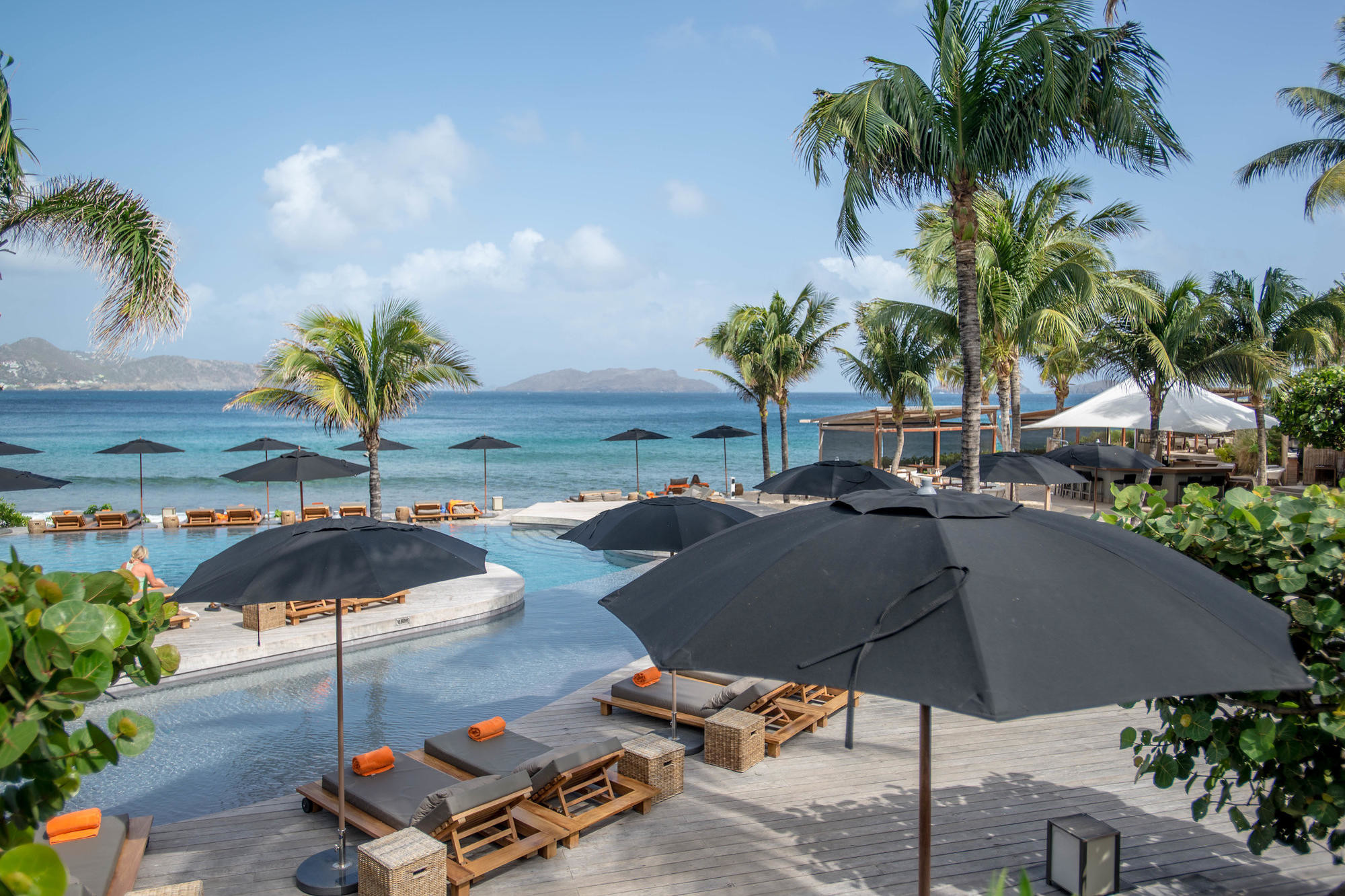 Pool at Christoper St. Barth in St. Barts
