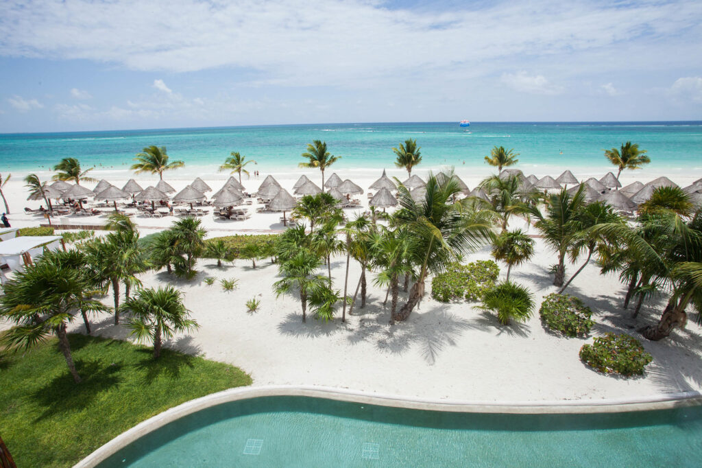 View from The Honeymoon Suite at the Secrets Maroma Beach Riviera Cancun
