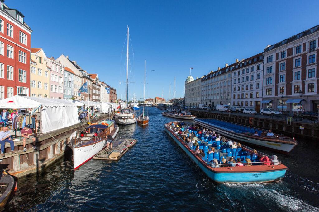 Kongens Nytorv & Nyhavn, Copenhagen