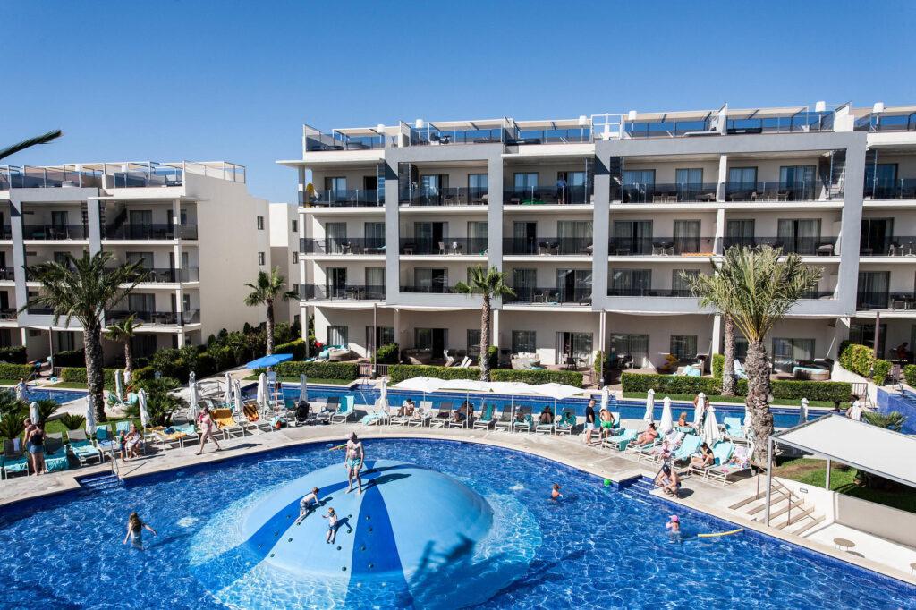 Pool at Zafiro Palace Alcudiain Mallorca