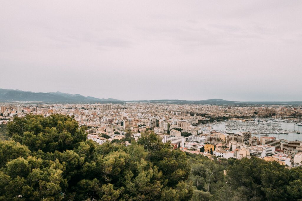 View of Palma, Mallorca